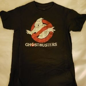 Men' size small Distressed Ghostbusters t-shirt